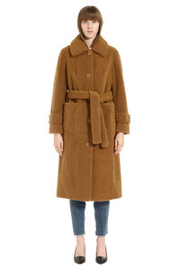 Lottie eco-shearling coat, Faux Fur and Shearling Stand Studio woman