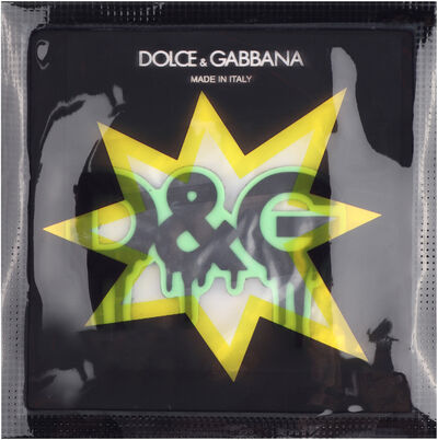 Melted D&G rubber patch