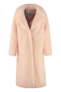 Clara faux fur coat, Faux Fur and Shearling Stand Studio woman