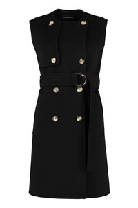 Magno belted wool vest, Vests and Gilets Sportmax Code woman
