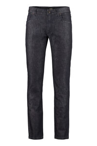 5-pocket slim fit jeans, Slim jeans Fendi man