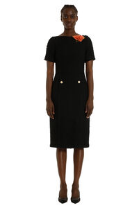 Tweed sheath dress, Knee Lenght Dresses Gucci woman