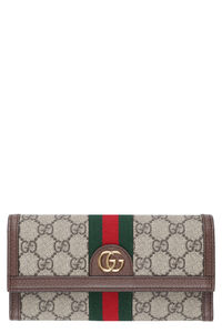 Ophidia continental wallet with logo, Wallets Gucci woman