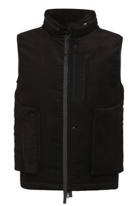 Shadow Project - Cotton waist coat, Gilets Stone Island man