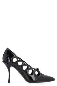 Leather pointy-toe pumps, Pumps Dolce & Gabbana woman