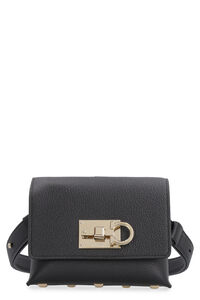 Leather belt bag with logo, Beltbag Salvatore Ferragamo woman