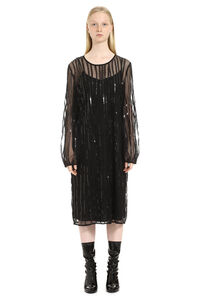 Zorro sequins embroidery tulle dress, Knee Lenght Dresses Max Mara Studio woman