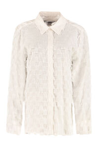 Fringed shirt, Shirts MSGM woman