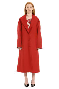 Wool oversize coat, Long Lenght Coats Red Valentino woman