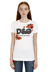 Crew-neck cotton T-shirt, T-shirts Dolce & Gabbana woman