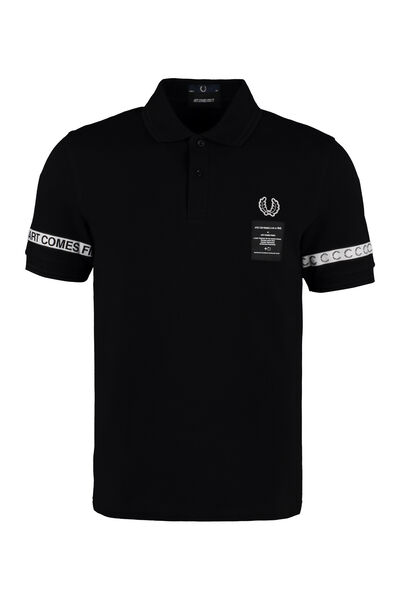 Fred Perry x Art Comes First cotton polo shirt