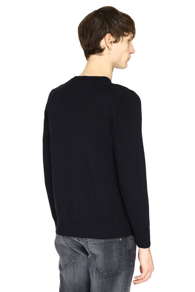 Cotton crew-neck sweater