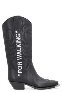 For Walking cowboy boots, Knee-high Boots Off-White woman