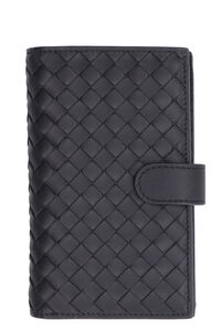 Nappa french-flap wallet, Wallets Bottega Veneta woman