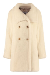 Teddy alpaca blend coat, Faux Fur and Shearling Max Mara woman