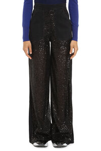 Parker sequin wide-leg jeans, Flared Jeans Pinko woman