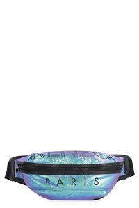 Iridescent nylon belt bag, Beltbag Kenzo man