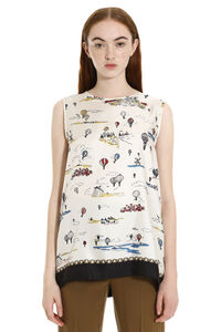Finale printed top, Printed tops S Max Mara woman