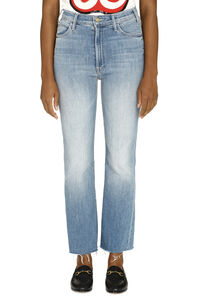 The Ustler Ankle Fray jeans, Skinny Leg Jeans Mother woman