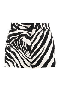 Printed cotton shorts, Shorts Dolce & Gabbana woman