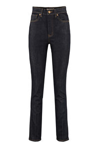 5-pocket jeans, Straight Leg Jeans Tory Burch woman