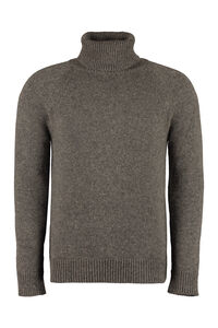 Camel-wool turtleneck sweater, Turtleneck Saint Laurent man