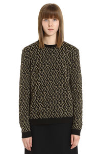 Jacquard sweater, Patterned sweaters Gucci woman
