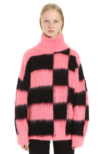 Oversized turtleneck sweater, Turtleneck sweaters MSGM woman
