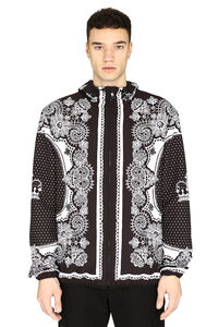 Bandana printed windbreaker, Raincoats And Windbreaker Dolce & Gabbana man