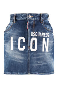 Minigonna in denim, Gonne in denim Dsquared2 woman