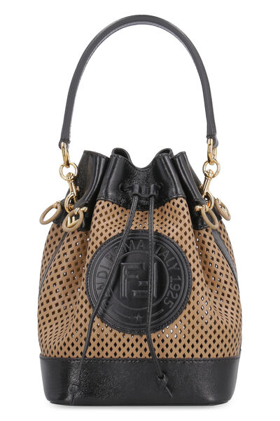 Mon Tresor leather bucket bag