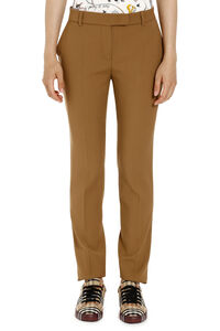 Virgin wool trousers, Straight Leg pants Max Mara Studio woman