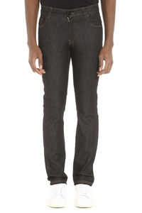 5-pocket jeans, Slim jeans Fendi man