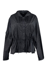 Hooded windbreaker, Raincoats And Windbreaker Givenchy woman