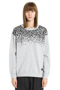 Cotton crew-neck sweatshirt, Sweatshirts MICHAEL MICHAEL KORS woman