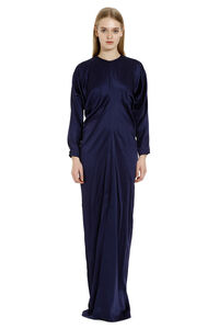 Pagode belted matte satin dress, Gowns & Evening dresses Max Mara woman