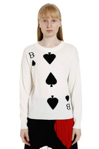 Wool and cashmere pullover, Crew neck sweaters Boutique Moschino woman