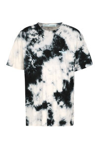 Tie-Dye cotton T-shirt, Short sleeve t-shirts Off-White man