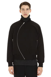 Nylon bomber jacket, Bomber jackets Bottega Veneta man