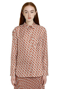 Printed twill shirt, Shirts Burberry woman