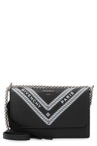 Leather wallet on chain, Clutch Givenchy woman