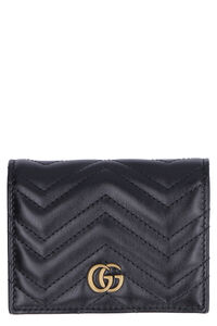 Marmont small leather wallet, Wallets Gucci woman