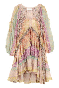 Carnaby printed georgette dress, Printed dresses Zimmermann woman