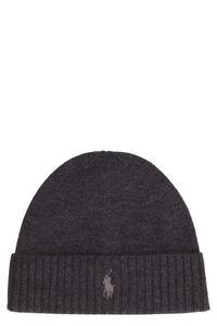 Knitted wool beanie, Hats Polo Ralph Lauren man