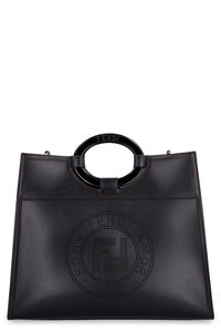 Runaway smooth leather tote bag, Tote bags Fendi woman