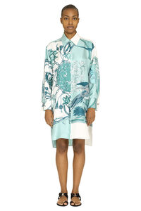Silk shirt dress, Printed dresses Salvatore Ferragamo woman