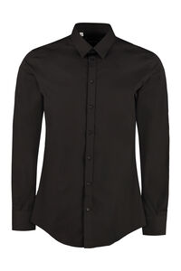 Classic Italian collar cotton shirt, Plain Shirts Dolce & Gabbana man