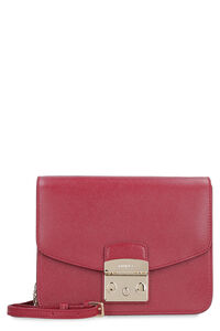 Metropolis leather crossbody bag, Shoulderbag Furla woman
