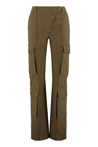 Cotton cargo-trousers, Straight Leg pants Kenzo woman