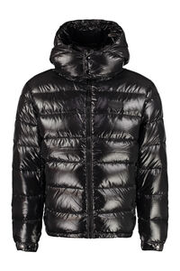 Enif full zip padded hooded jacket, Down jackets Duvetica man